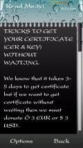 Certificate Trick