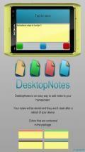 Desktop Notes Widget