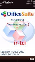 OfficeSuite.v5.40 S60v5 SymbianOS9.4