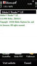 Adobe Reader LE v2.5.496 Unsigned Freee