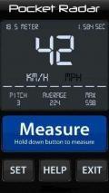 Pocket Radar Measure