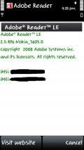 Adobe Reader v 2.5.496