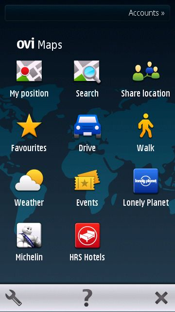 PHONEKY - Maps Symbian Apps