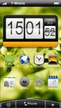 HOMESCREEN S60v5 HTC CLOCK 1