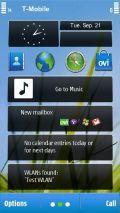 N8 HomeScreen Flash Lite