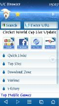 Blue Ocean Theme For UC Browser