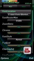 Font Router
