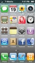 Iphone Flash Homescreen 3page