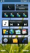 NOKIA N8 Homescreen