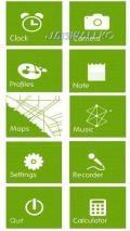 Windows Phone 7 Green Launcher v1.00