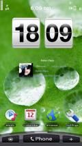 Orange HTC Hero with widgetiser