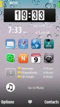 Desktop Clock Widget