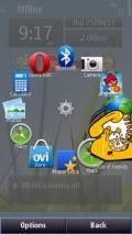 Circle Launcher For S60v5,belle &v3