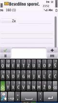 Croatian Swype Keyboard