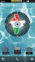 Big Clock India Map