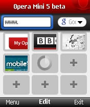 Opera Mini 5 Beta 2 Java App - Download for free on PHONEKY