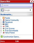 Opera Mini 4 Web browser