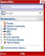 Opera mini 4. 3.