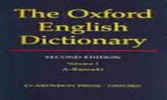 Oxford English Dictionary Latest