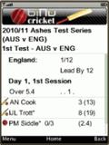 Cricket Live - Ashes Cricket Scores