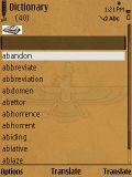 Dictionary Word Translator