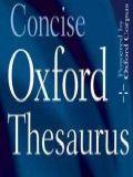 MSDict Concise Oxford Thesaurus