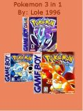 Pokemon 3 in 1 pack