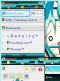 Opera Mini Mod 4.21b18/7.0 Hatsune Miku