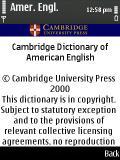 Cambridge American English Dictionary