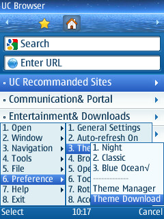 UC Browser Java App - Download for free on PHONEKY