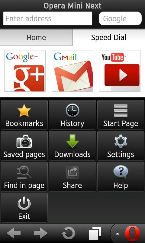 Opera Mini Next На Андроид