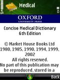 Concise Oxford Medical Dictionary