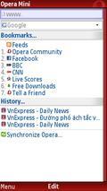 Opera Mini 4.3 (Fullscreen)