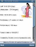 Pregnancy Period Of Gestation & EDD Calculator For Obstetrics