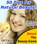 50 Tips For Natural Beauty