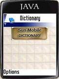 Sun Mobile Dictionary 4.5