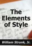 The Elements Of Style Mobile Booklet