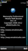 EMobiStudio MemoryUp Pro v3.9 S60v3 S60v5 Symbian3