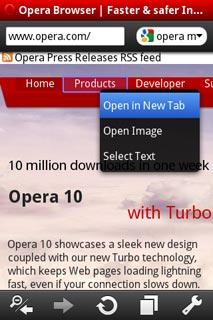 opera mini for tecno t511