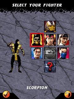 game mortal kombat 2 128x160