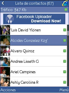 Facebook Pro Chat C3 Java App - Download for free on PHONEKY