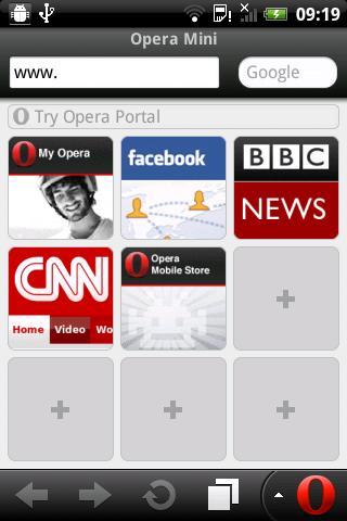 Opera Mini App Java - Télécharger sur PHONEKY