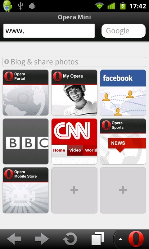 Download Opera Mini 6 6 0 Java App - Download for free on PHONEKY