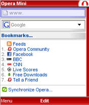 opera mini 4.2 free download