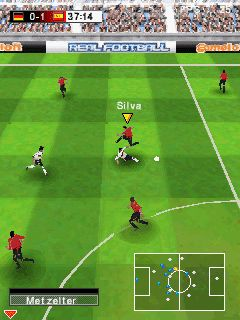 Real Football 2009 HD Symbian Game - Download for free on PHONEKY