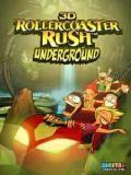 3D Roller Coaster Rush Underground