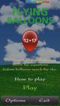 Flying Baloon Maths Game