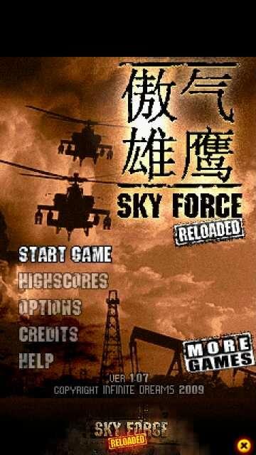 Free Download Sky Force Reloaded Jar