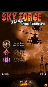 sky force reloaded apk mod download