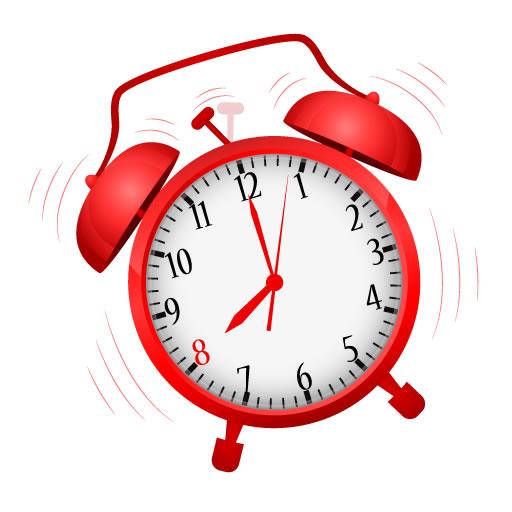 Alarme do relógio clássico